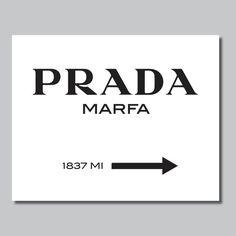 Prada Marfa drucken Prada Marfa Art Prada von RhondavousDesigns2