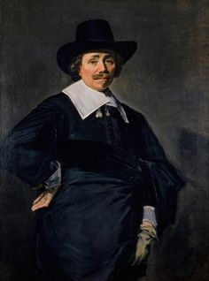 Frans Hals, Nobiluomo olandese, 1643-1645 circa olio su tela, cm 115 x 86,1 Edimburgo, Scottish National Gallery dono di William McEwan ,1885 #RaffaelloversoPicasso #Vicenza