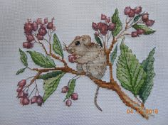 Natusya Nata, great stitchery and detail, especially on berries.
