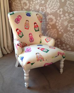 Bedroom / Occasional / Nursery Chair by RoccoUpholstery on Etsy
