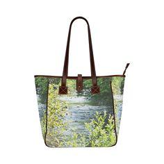 River Runs Through It Classic Tote Bag (Model 1644)