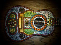 Bright Melody Mosaic Guitar