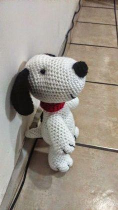 Snoopy Amigurumi_spanish