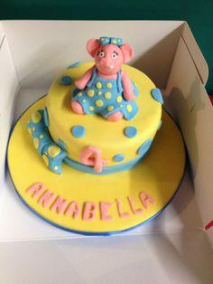Anxious The Elephant Cake