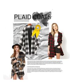 """Plaid"" by bukalemunn on Polyvore featuring moda, WithChic ve Hermès"