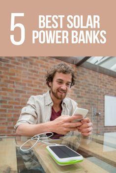 The 5 Best Solar Power Banks