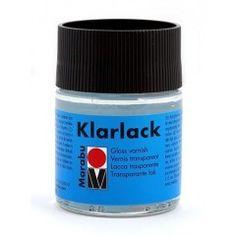 Лак финишный глянцевый на основе органических растворителей Marabu Klarlack, 50 мл