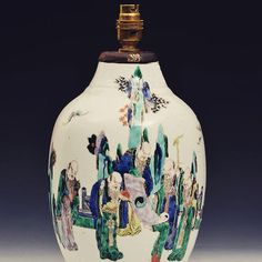 A #Chinese famille verge #vase was up for auction on Thursday April 30th in #Cheltenham