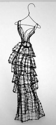 Leigh Pennebaker dress sculptures