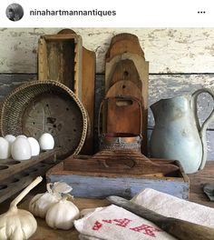 Nina Hartmann Antiques Scandinavian Furniture, French Cottage, Rustic Farmhouse, Primitive, Shabby Chic, Antiques, Instagram Posts, Country Life, Folk Art