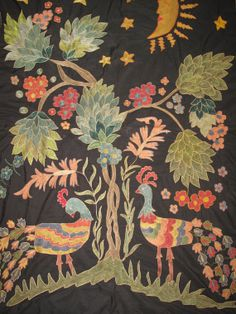 "Antique designe SILK suzani hand made embroidery craft home decor BUKHARA region 59""X73"""