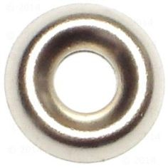 #8 Brass Finishing Cup Washer Qty 250