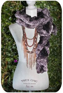Stay Warm & Chick this Holiday With Vegan Fur Scarves And  Statement Necklaces from CCC! Find more at www.crushcrushcouture.com