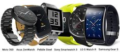 #Motorola #Moto360, #AsusZenwatch, #Sony #Smartwatch3, #LG #GWatchR, #PebbleSteel, #Samsung #GearS, #SamsungGearS #bestof2014 #topsmartwatchof2014