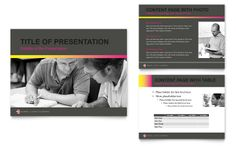 nursing school hospital - powerpoint presentation template design, Modern powerpoint