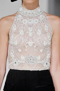 icy-fashion:    TEMPERLEY SPRING 2012