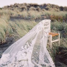Perfection! This shot by @erichmcvey of our Vintage French Veil still takes our breath away.