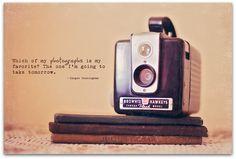 Kodak Brownie Hawkeye camera (circa 1950-1961).