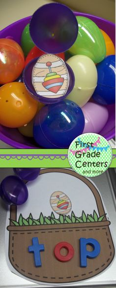 Great word work center for Easter.  Includes short vowels, silent e, and vowel teams $