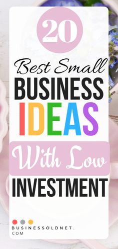 Checkout Top 20 Best Small Business Ideas with low investment and big profits.Diffrent types of business ideas Retail Business Ideas, Best Small Business Ideas, Start A Business From Home, Best Home Business, Starting A Business, Business Tips, Online Business, Types Of Small Business, Business Journal