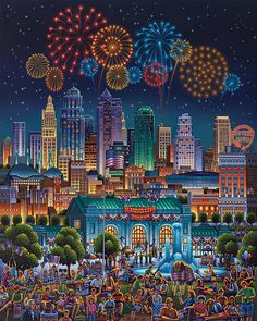 kansas-city  Eric Dowdle folk art