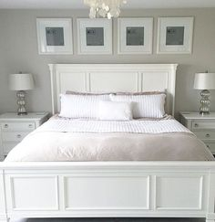 Master Bedroom Set - White or Black | Master bedroom, Bedrooms and ...