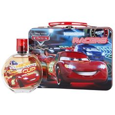 Cars Eau de Toilette and Metal Lunch Box for Kids Pink Nails Dolls Birthday Party Cake