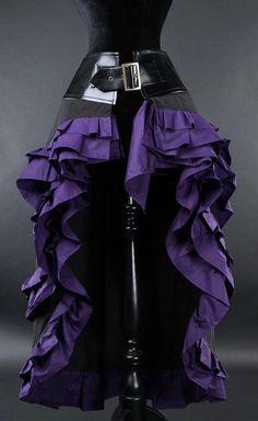 Steampunk Vex Skirt