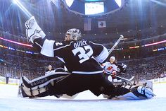 Jonathan Quick ~ LA Kings ~ Stanley Cup champion and Conn Smythe trophy winner