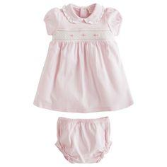 Kissy Kissy Pink Smocked Dress