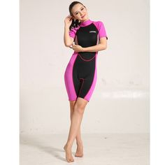 (37.81$)  Buy here - http://aia7y.worlditems.win/all/product.php?id=32790148708 - Neoprene Wetsuit Women Surf Suit Swimsuit Ladies Wet Suit For Swimming Rash Guard Swimwear Short Sleeve Wetsuits Female Surfing