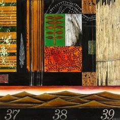 View Untitled Landscape Composition By Nicky Foreman; acrylic, oil, varnish and affixed copper on board; Access more artwork lots and estimated & realized auction prices on MutualArt. John Piper, Salvador Dali, Banksy, Composition, Maori Art, Art Auction, Portrait, Landscape, Artwork