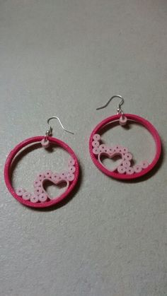 Quilling earings