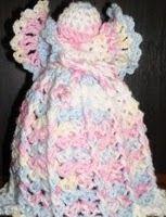 Air Freshener Crochet Angel Cover