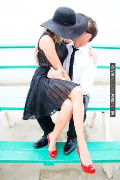 Catalina Island Engagement | VIA #WEDDINGPINS.NET