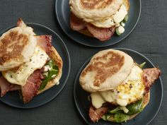 Eggs Benedictwich Recipe : Jeff Mauro : Food Network - FoodNetwork.com