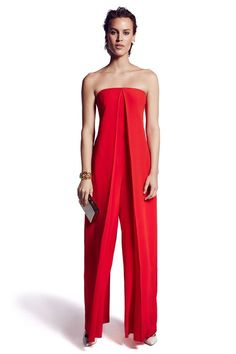 Red Jumpsuit Plus Size Jumpsuit Red Overall Women Jumpsuit Plus Size Jumpsuit, Red Jumpsuit, Strapless Jumpsuit, Red Romper, Summer Jumpsuit, Palazzo Jumpsuit, Jumpsuit Outfit, Look Fashion, Fashion Outfits