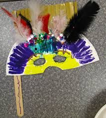 mask making for elementary students - Google Search