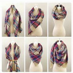 #Blanketscarf - How to wear it! #ShopVersona #MyVersonaStyle #Versona…