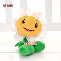 1pcs Game Plants vs Zombies Jin Panhua Action Figure Plush Toy Doll Gifts @ niftywarehouse.com