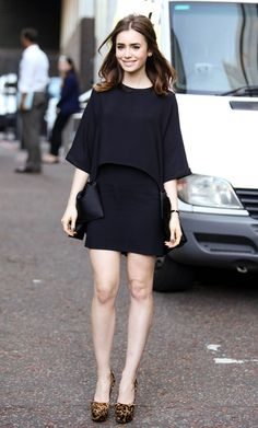 Lily Collins arriving at London studios in London - Aug 19, 2013 - Photo: Runway Manhattan/Goff Photos