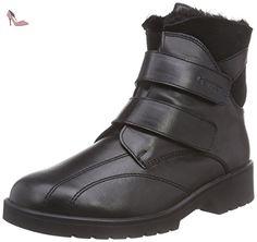 Ganter ELLEN-STIEFEL, Weite G, Bottes Classics courtes, doublure chaude femme, Noir (schwarz 0100), 35 EU - Chaussures ganter (*Partner-Link)