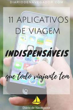 11 aplicativos de viagem indispensáveis que todo viajante tem - Pinterest