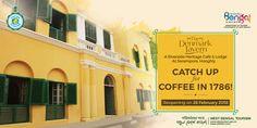 The Denmark Tavern  A Riverside Heritage Cafe & Lodge at Serampore,Hooghly