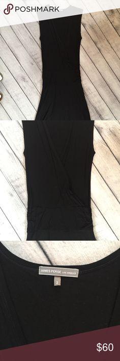 James Perse Women's Knit Dress, Size 2 James Perse women's knit top. Size 2.  Black.  Knit material.  Excellent condition! James Perse Dresses