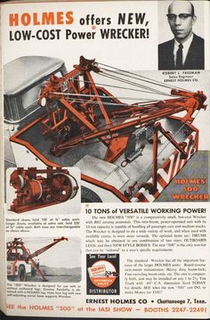 This is an unusual high angle illustration of a Holmes wrecker assembly to use as reference material. Not a project for the faint of heart for sure. Rv Truck, Truck Art, Dodge Trucks, Cool Trucks, Big Trucks, Towing And Recovery, Vintage Pickup Trucks, High Angle, Transporter