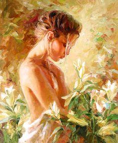 Michael e Inessa Garmash! Michael Garmash nasceu em 1969 em Lugansk, na Ucrânia e começou a pintar com três anos de idade . Aos seis começou sua educação formal no Juventude Lugan…
