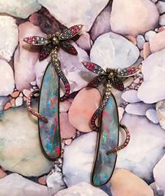 Wendy Yue Opal Earrings