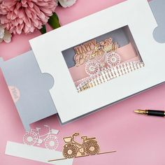 Rolling Along Scene Etched Dies from Make a Scene Collection by Becca Feeken Waterfall Cards, Alphabet Stamps, Sending Hugs, 3d Cards, Flower Shape, Flower Making, Anniversary Cards, Becca, Stampin Up