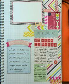 smash book ,smashbook,smashbook orange simple style